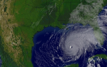 The Gulf of Mexico Loop Current fuels hurricanes like Rita, pictured here.