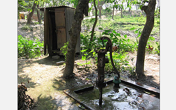 Village groundwater supplies in Bangladesh may foster arsenic poisoning and infectious diseases.