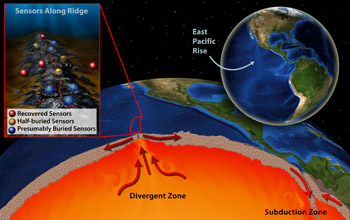 Oceanographers discovered an undersea eruption as it happened last spring.