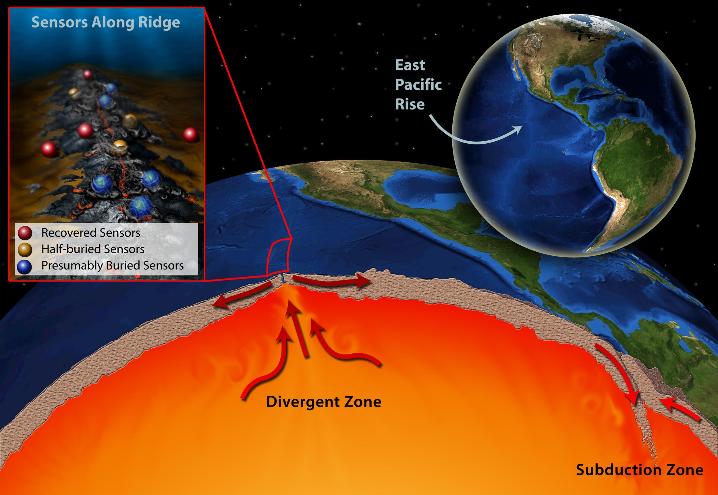 """Scientists Catch Underwater Volcanic Eruption """"In Action ... Pacific Ocean Underwater Volcanoes"""