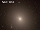 NGC 1453, a giant elliptical galaxy situated in the constellation Eridanus