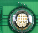 Photo of the electronic-eye camera.