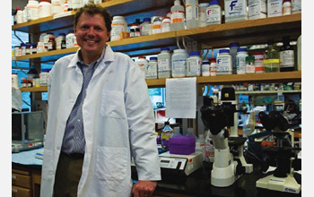 Photo of Kerry Ressler at Yerkes National Research Center.