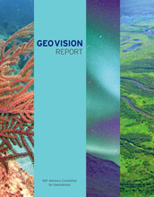 Cover of the GEOVision report.