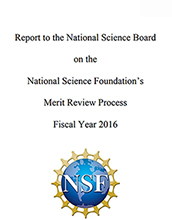 FY 2016 Merit Review Report
