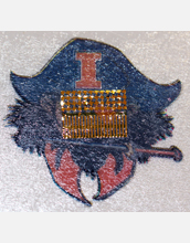A newly developed stick-on tattoo with integrated sensor technology, prior to application.