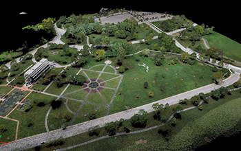 3D model of the Jewel Box in Forest Park