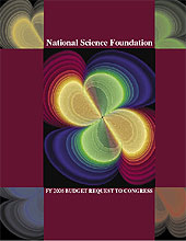 NSF FY 2006 Budget Request to Congress cover/Gravitational Waves from In-Spiraling Black Holes