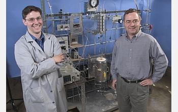 "James Dumesic and George Huber are pioneering ""green gasoline"" technology."