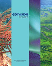 Cover of the NSF's Advisory Committee for Geosciences GEO Vision report.