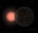 A flythrough animation of the Gliese 876 system