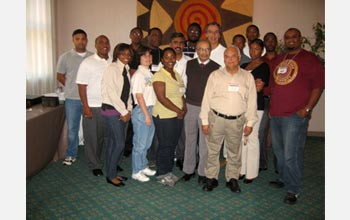 Photo of the participants and professors from the short course at Tuskegee University.