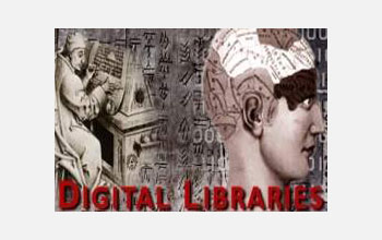 Portion of Digital Libraries I logo.