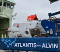 Alvin leaving Woods Hole, Mass., facility