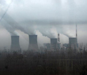 Photo of a coal power plant in Xian, China releasing sulfur dioxide directly into the atmosphere.