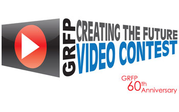 GRFP video contest logo.