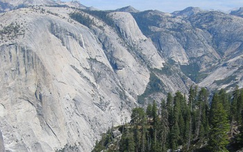 The Sierra Nevada has gone through kilometers of rock uplift over the last several million years.
