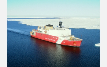 Journalists may spend five days aboard the icebreaker Healy during a research mission.