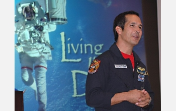 John Herrington is an aviator, astronaut and member of the Chickasaw Nation.