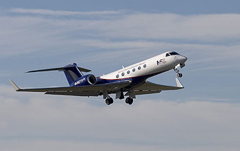 HIAPER takes to the skies for its first science mission on March 1, 2006.