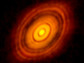 Protoplanetary disk around the young star HL Tauri