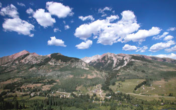 Photo of the Rocky Mountain Biological Laboratory in Colorado.