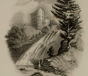 Image of Red Mill Fall, Opposite Albany, by William Tolman Carlton, 1847-1849.