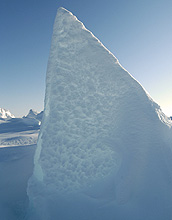 Photo of icescape.