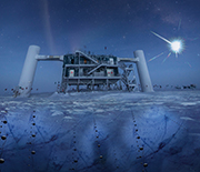The IceCube Neutrino Observatory at NSF's Amundsen-Scott South Pole Station.