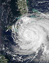 Research on the future likelihood of hurricanes in the Gulf of Mexico, such as Ike, is underway.