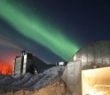 Amundsen-Scott South Pole Station during the long Antarctic night