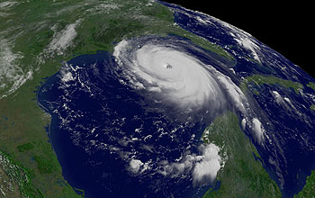 Atmospheric scientists flew into Hurricane Katrina's eyewall and rainbands in project RAINEX.