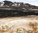 Photo of the Leirhnjukur hot spring.