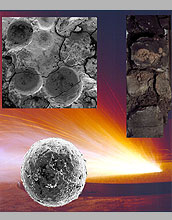 a spherule layer from the asteroid