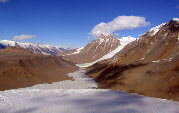 Taylor Valley in the McMurdo Dry Valleys.