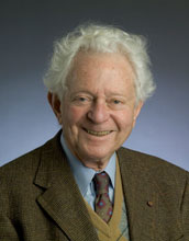 Photo of Nobel laureate Dr. Leon M. Leaderman.