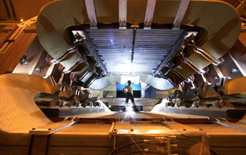 Image of the LHCb magnet.