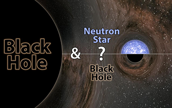 mystery object: a neutron star or black hole