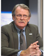 Ray Byrnes, liaison for satellite missions at the U.S. Geological Survey in Reston, Va.