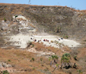 Photo of Late Cretaceous fossil locality in northwestern Madagascar.