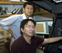Image of Seung-Wuk Lee and Woojae Chung, both of the University of California at Berkeley.