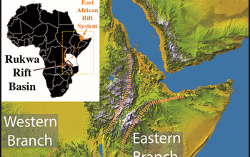 Multimedia Gallery Map Of The Great Rift Valley In East