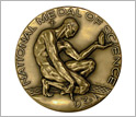 Photo of the National Medal of Science.