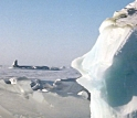 Arctic ice sheets on Ellesmere Island, located north of Greenland, could melt faster than expected.