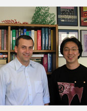 Photo of Michael Tsapatsis and Jungkyu Choi.