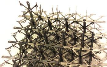 metallic digital material