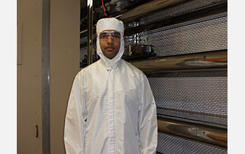 Photo of Vishal Singhal of Thorrn Micro Technologies, one of the co-developers of the micro-fan.