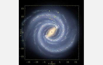 Artist's conception of the Milky Way.