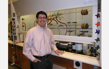 Photo of Lyle Isaacs, associate professor of chemistry at the University of Maryland.