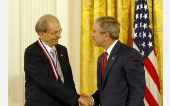 Photo of Achenbach and the President
